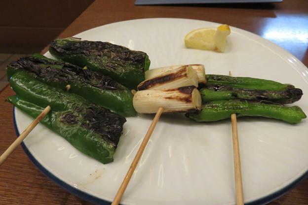 鳥光 野菜焼き