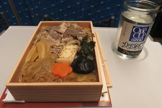 新幹線 神戸すき焼き弁当_02