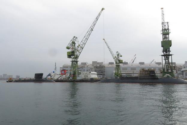 川崎造船 潜水艦建造_03