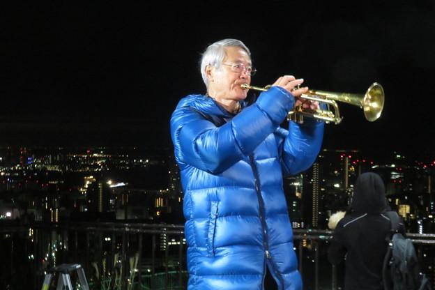 松平晃 トランペット演奏