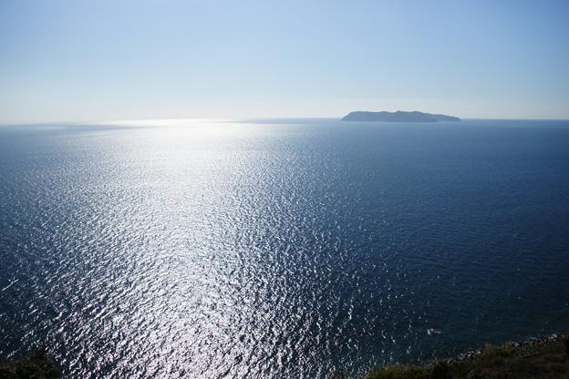 灘黒岩水仙郷 灘の海
