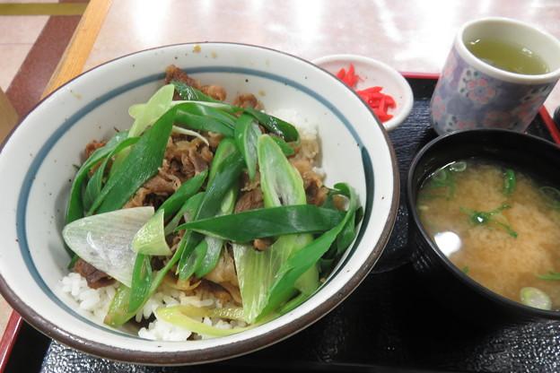九条ねぎ 牛丼