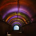 カラフルな青葉トンネル