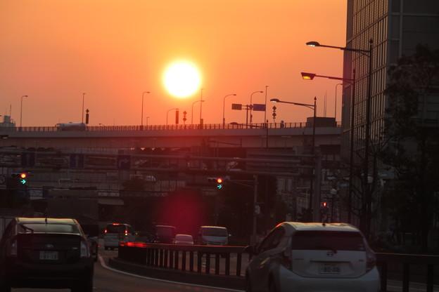 Photos: 大きな朝日_02