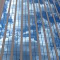 Photos: そらガーデン 窓に映る雲_01