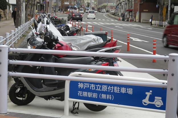 花隈駅 駐輪場(バイク)_03