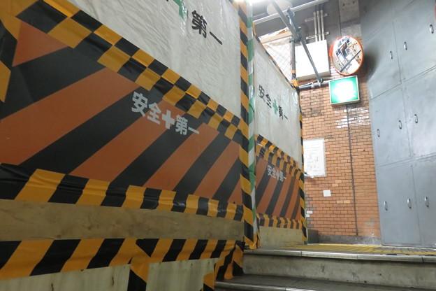 花隈駅 改札前エレベーター設置_01
