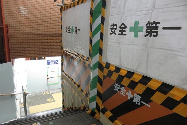 花隈駅 改札前エレベーター設置_02
