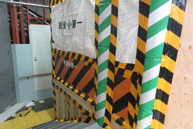 花隈駅 改札前エレベーター設置_04