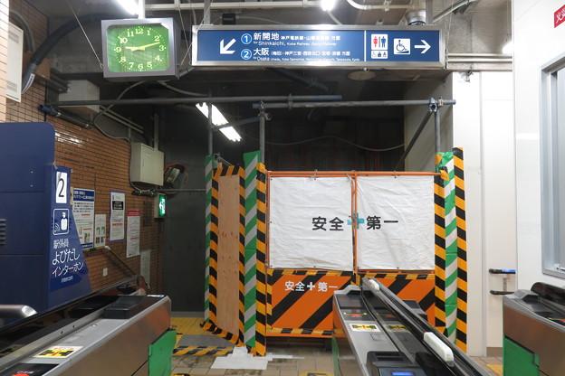 花隈駅 改札前エレベーター設置_05