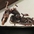 Photos: 喫茶店のバイク