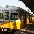 Photos: ことでん琴平駅 ホームの電車_01