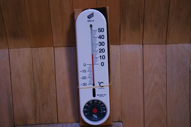 風室の気温・湿度