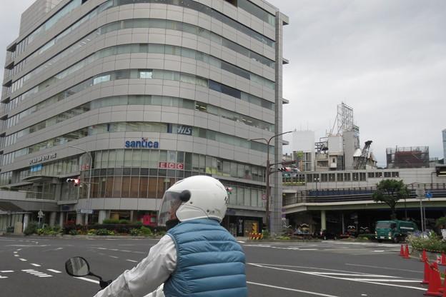三宮交差点 信号実験_01