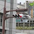 Photos: 三宮交差点 信号実験_03