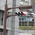 Photos: 三宮交差点 信号実験_04
