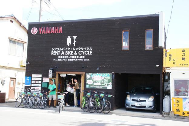 レンタサイクル店