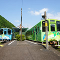 Photos: 北河内駅 行き違い_02