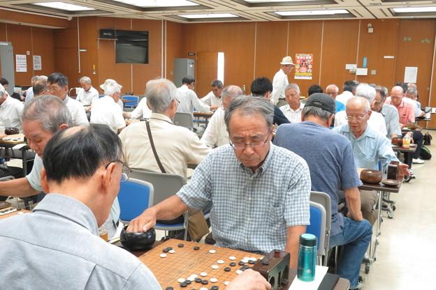 囲碁B 対局始まる_02