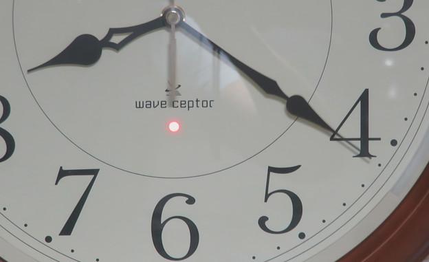 電波時計 受信状況 0925