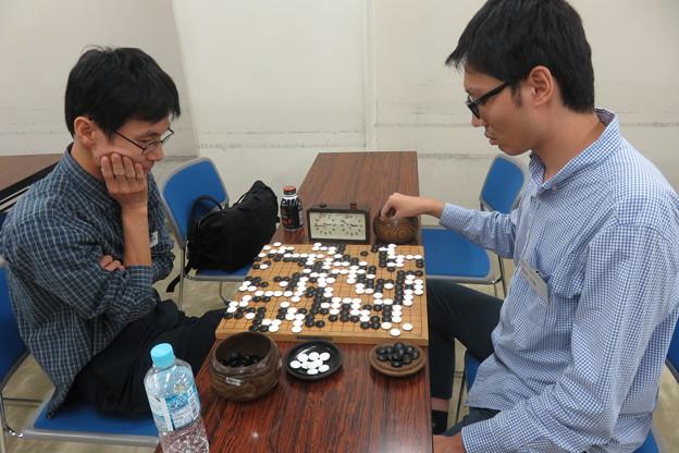 囲碁A級 3位決定戦