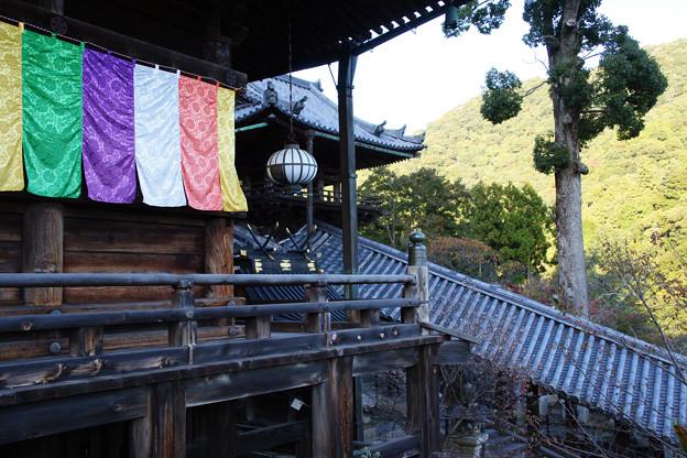 長谷寺 本堂と登廊