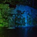 滝のライトアップ_01