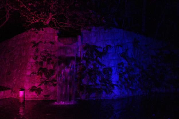 滝のライトアップ_02