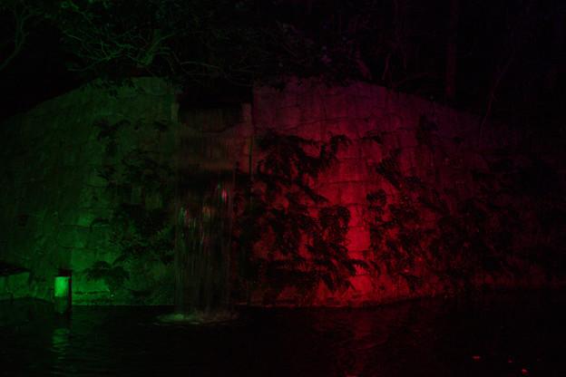 Photos: 滝のライトアップ_03