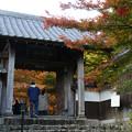 Photos: 円通寺 山門の紅葉_02