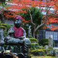 円通寺 延命地蔵菩薩の紅葉