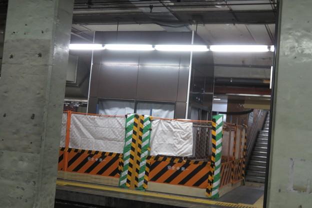 花隈駅 エレベーター工事_08