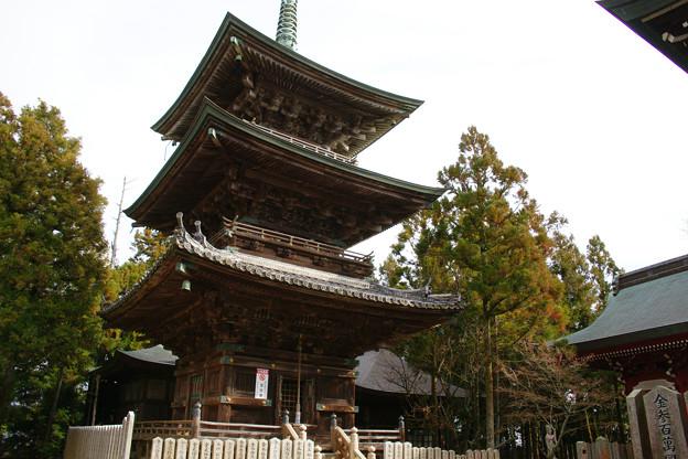 千光寺 三重塔