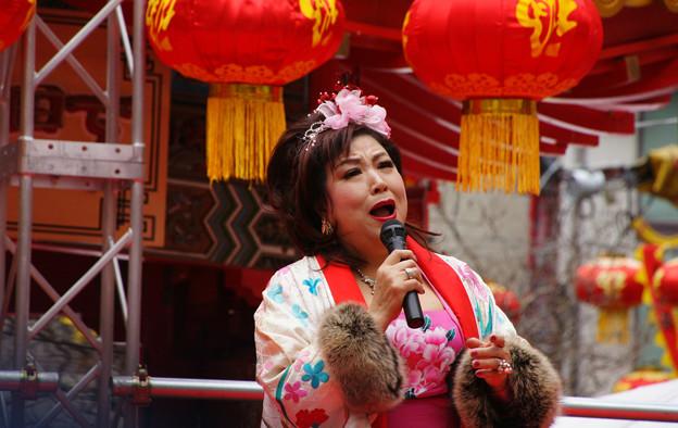 Photos: 南京町の歌姫 范丹陽_05