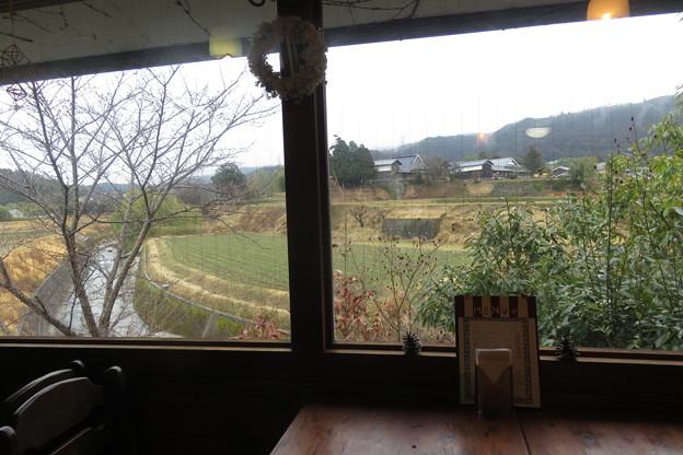 カランコロンからの農村風景
