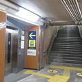 Photos: 花隈駅上りホーム エレベーター_01