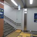 Photos: 花隈駅上りホーム 案内_01