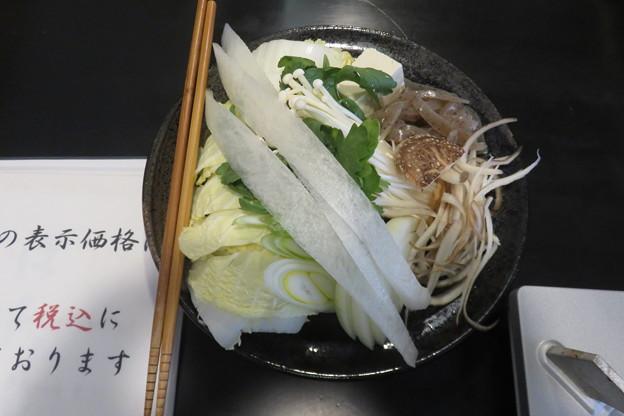 ぼたん鍋 野菜