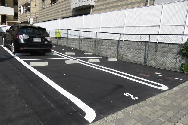 平面駐車場 供用開始