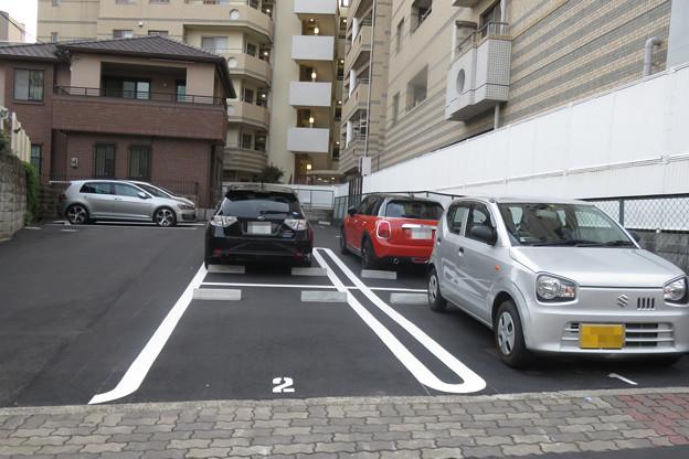 平面駐車場 駐車車両増える_01