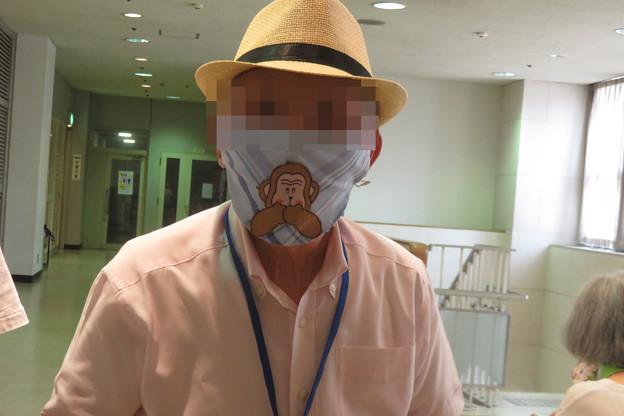 Yさんのマスク