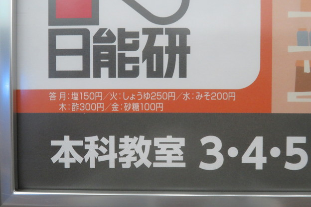 日能研問題 1週間の買い物_02