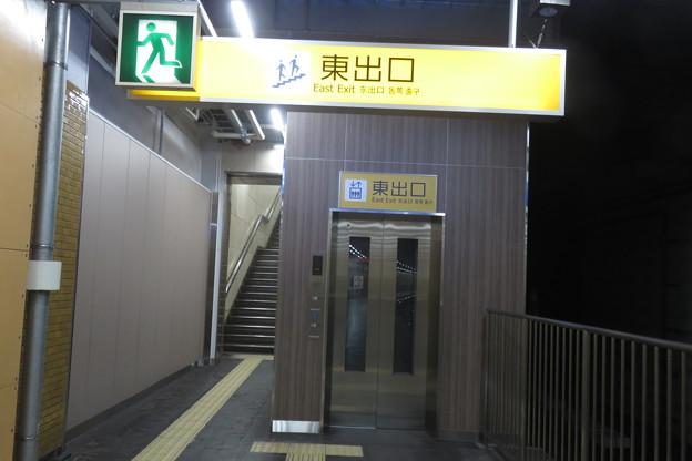西元町駅 上りホームエレベータ