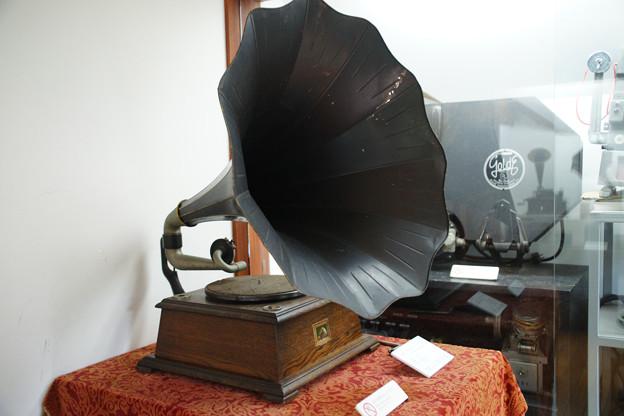 蓄音機展示