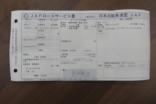 JAFの作業書