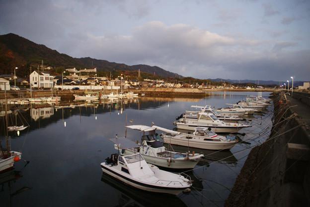 青木の漁港