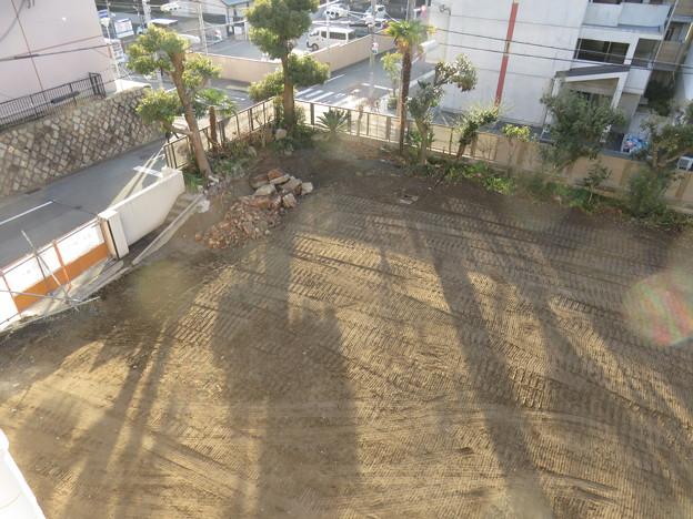 三菱倉庫寮 跡地整地_05