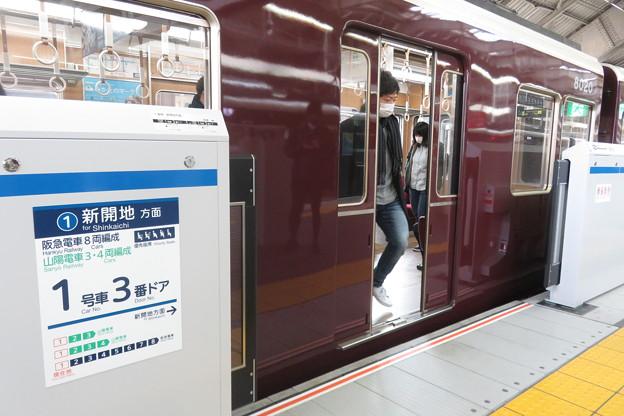 阪急三宮駅 ホームドア_05