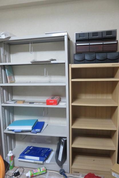 引っ越し 本棚整理