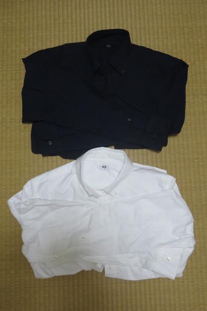 ユニクロ 長袖シャツ